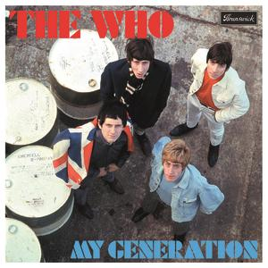 Portada del disco My Generation de The Who