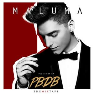 Portada del disco PB.DB. The Mixtape de Maluma