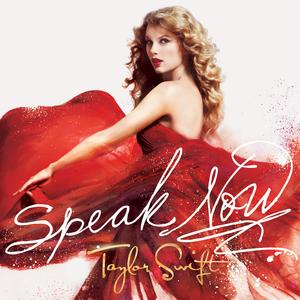 Portada del disco Speak Now de Taylor Swift