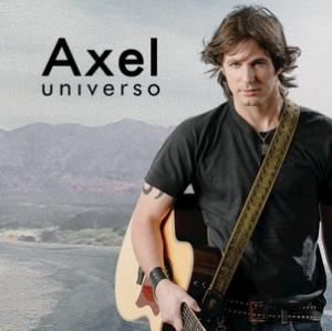 Portada del disco Universo (International Version) de Axel