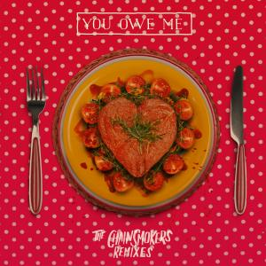 Portada del disco You Owe Me - Remixes de The Chainsmokers
