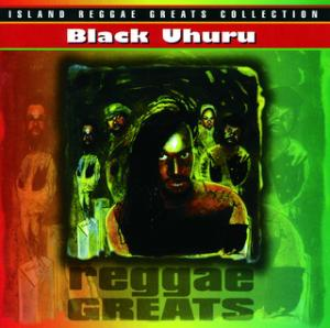 Portada del disco Reggae Greats de Black Uhuru