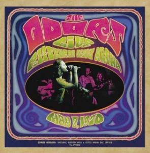 Portada del disco Live In Pittsburgh 1970 de The Doors