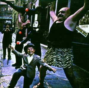 Portada del disco Strange Days de The Doors
