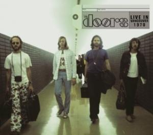 Portada del disco Live In Vancouver 1970 de The Doors