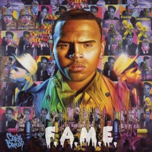 Portada del disco F.A.M.E. de Chris Brown