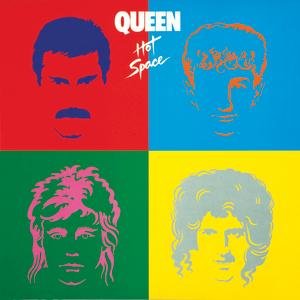 Portada del disco Hot Space de Queen
