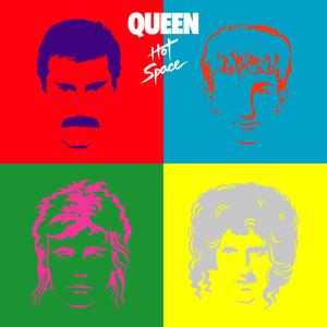 Portada del disco Hot Space (Deluxe Edition 2011 Remaster) de Queen