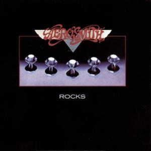 Portada del disco Rocks de Aerosmith