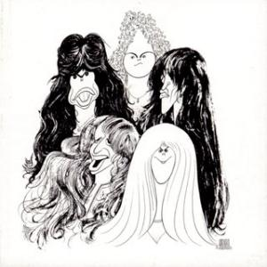 Portada del disco Draw The Line de Aerosmith