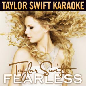 Portada del disco Fearless (Karaoke Version) de Taylor Swift