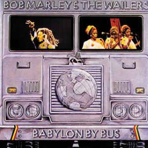 Portada del disco Babylon By Bus de Bob Marley & The Wailers