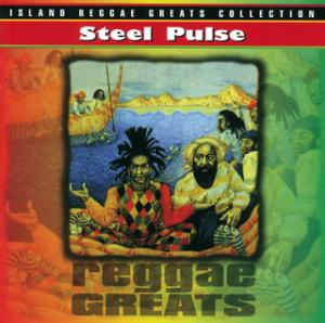 Portada del disco Reggae Greats de Steel Pulse