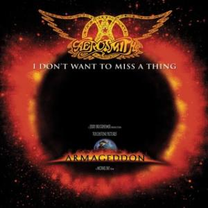 Portada del disco I Don't Want To Miss A Thing de Aerosmith