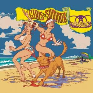 Portada del disco Girls Of Summer de Aerosmith