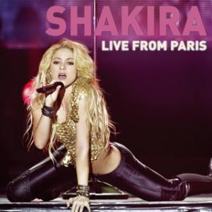 Portada del disco Live From Paris de Shakira