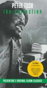 Portada del disco The Collection de Peter Tosh
