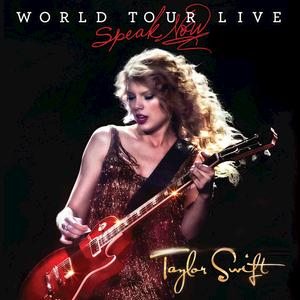 Portada del disco Speak Now World Tour Live de Taylor Swift