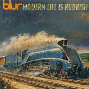 Portada del disco Modern Life Is Rubbish de Blur