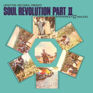 Portada del disco Soul Revolution Part II de Bob Marley & The Wailers
