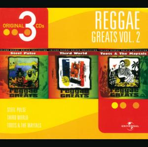 Portada del disco Steel Pulse/ Toots & The Maytals/ Third World de Steel Pulse