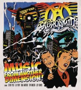 Portada del disco Music From Another Dimension! de Aerosmith